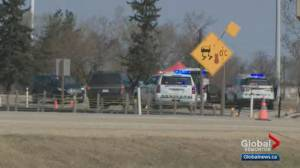 27-year-old man dead, RCMP officer injured after shooting near Leduc