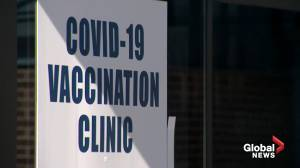 Some 'high priority health care workers' eligible to receive vaccine (02:38)