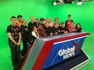 St. Augustine School Grade 5s latest SkyTracker students