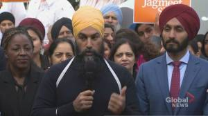 Federal Election 2019: Singh says he remains 'opposed' to Trans Mountain pipeline expansion