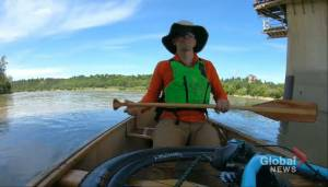 Edmonton's Dr.  Darren Markland on biking and canoeing to work
