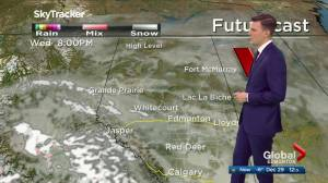Edmonton afternoon weather forecast: Tuesday, December 29, 2020 (03:17)