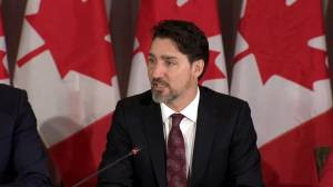 Justin Trudeau thanks big city mayors for their support following Iran plane crash