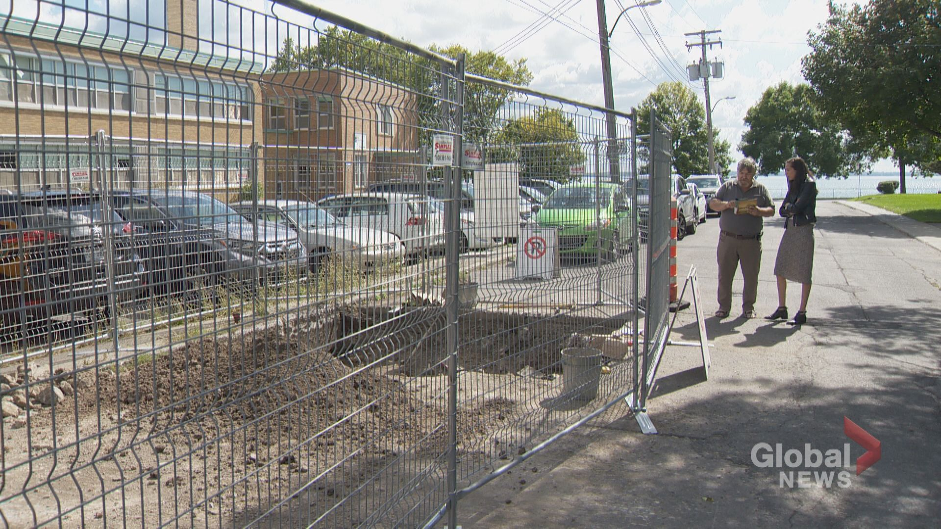 Pointe-Claire Village site for archeological dig
