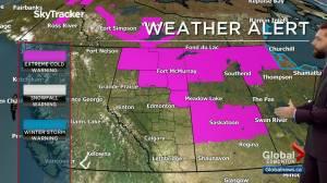 Edmonton weather forecast: Thursday, February 4, 2021 (03:26)
