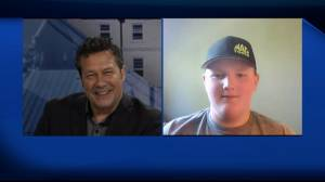 Global News Morning chats with 13 year old racer Cole Perry (03:31)
