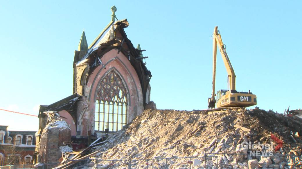 More than century-old Gothic Arches coming down in Saint John