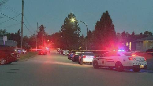Male suspect arrested after 25-year old woman shot in Burnaby | Watch News Videos Online