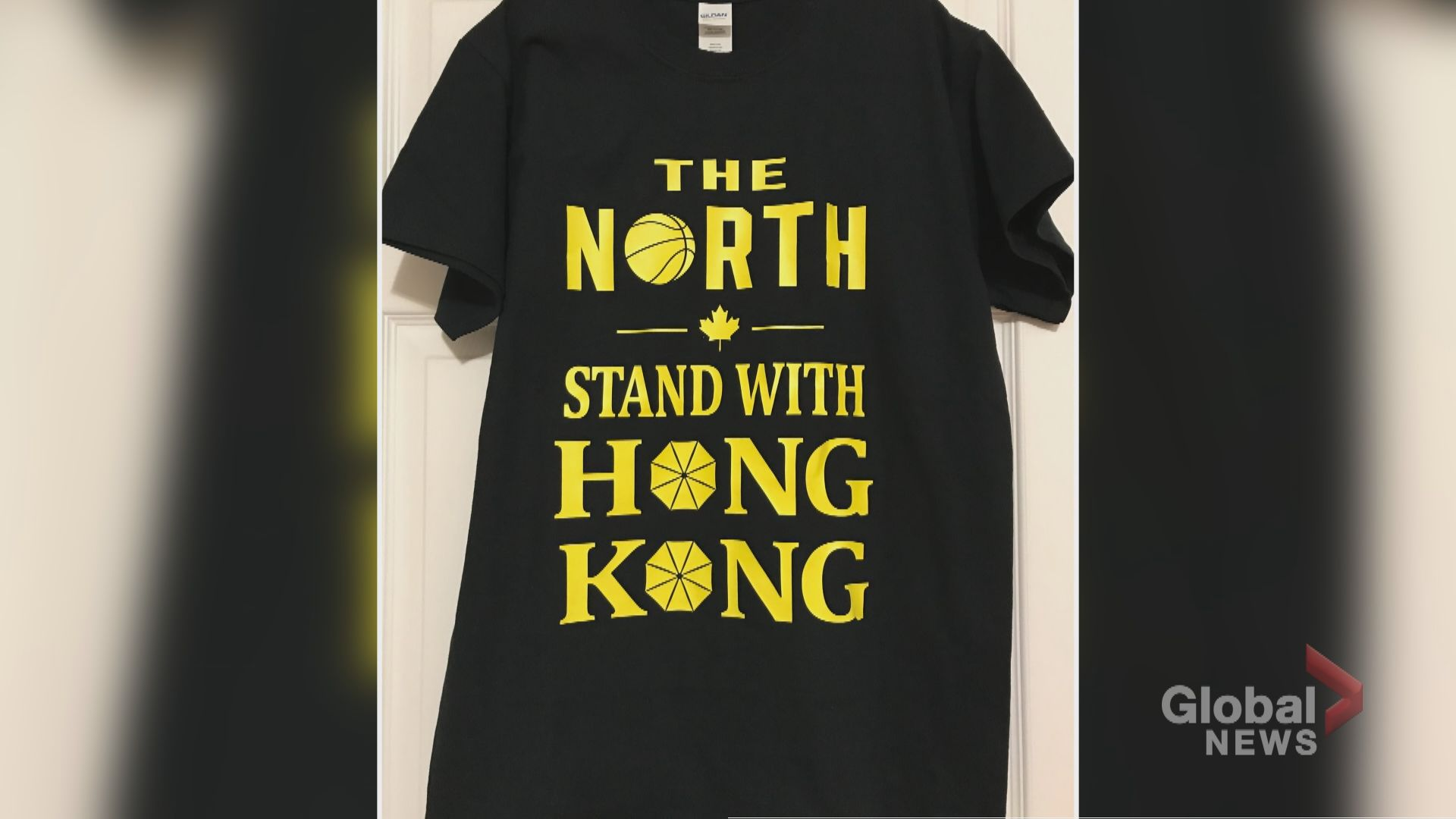 Group plans to give out thousands of pro-Hong Kong T-shirts to Raptors fans ahead of season opener