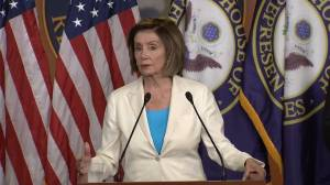 Pelosi appoints former House impeachment managers, GOP's Cheney to committee investigating Capitol attack (01:54)