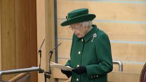 """""""Eyes of the world"""" will be on Scotland for climate summit, Queen Elizabeth says (02:14)"""