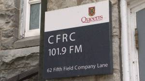 Queen's University's radio station kicks-off annual fund raising drive (02:11)
