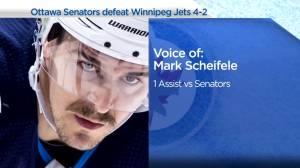 RAW: Winnipeg Jets Mark Scheifele Interview – Apr. 12 (03:17)