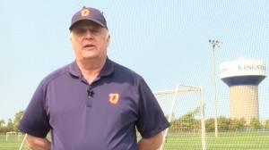 Kingston soccer will miss Bob Machin who is retiring after 57 years. (02:11)
