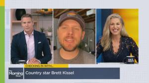 Country singer Brett Kissel reveals his scariest on-stage moment (04:41)