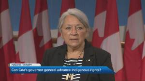 Can Governor General Mary Simon advance Indigenous rights? (06:52)
