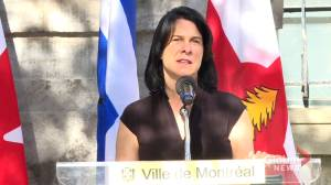 Montreal mayoral candidates react to minority Liberal government (02:00)