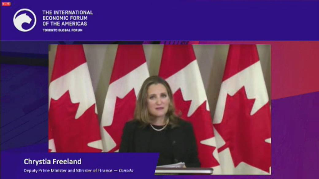 Click to play video 'Coronavirus: Freeland says fighting COVID-19 'isn't cheap''