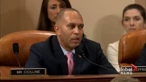 Democrat Rep. Hakeem Jeffries impeachment speech looks at what 'Divide' and 'Clarify' means