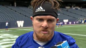 RAW: Blue Bombers Adam Bighill Interview – Sept. 24