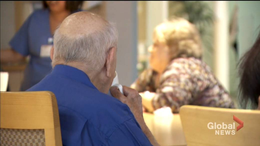 Click to play video: 'Quebec long-term care residents have received second dose of COVID-19 vaccine'