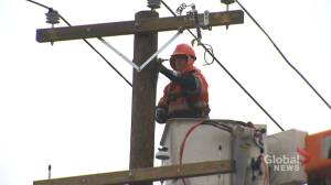 Thrashing winds cause widespread power outages and flooding in southern N.B.