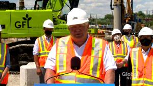 Scarborough subway extension construction underway, Ford announces (01:07)