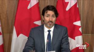 Feds offer assistance for Ontario after record setting COVID-19 case numbers, says Trudeau (01:37)
