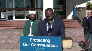 Alberta Security Infrastructure Program to help protect against hate crimes (05:57)