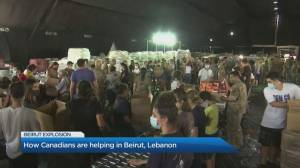 Lebanese-Canadian businessman travels to aid Humanitarian Coalition in Beirut (05:00)