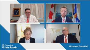 N.S. premier holds COVID-19 virtual town hall (01:17)