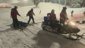 Out of bounds snowboarder injured in avalanche on Cypress Mountain (02:16)