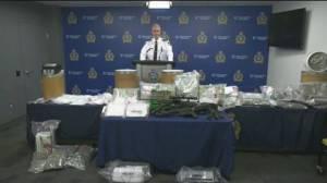 Winnipeg Police call drug bust 'significant milestone,' details seizures (04:37)