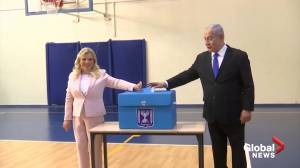 Israelis vote in close-run election