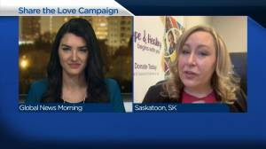 Share the Love campaign seeks cards for kids at Saskatoon hospital ahead of Valentine's Day (03:15)