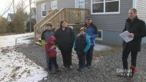Family in St. Stephen, N.B., takes ownership of town's first Habitat for Humanity house