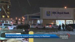 Violent bank robbery leaves 4 employees injured in Markham