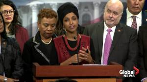 'We owe it to the American people to prevent war': U.S. Representative Ilhan Omar