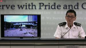 Hong Kong police say rule of law 'at the brink of collapse' amid protests