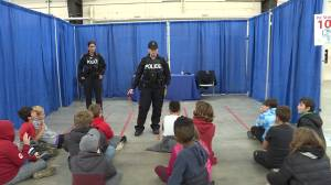 Kingston emergency responders teach local kids in Steer Clear of Drugs campaign