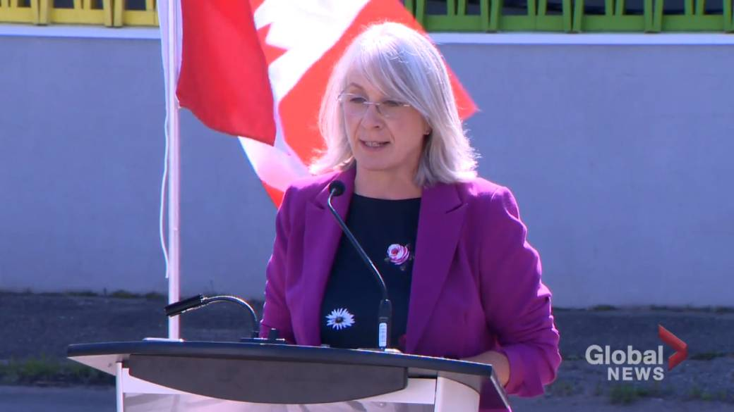 Click to play video: 'Federal health minister tours Clinic 544 in Fredericton'