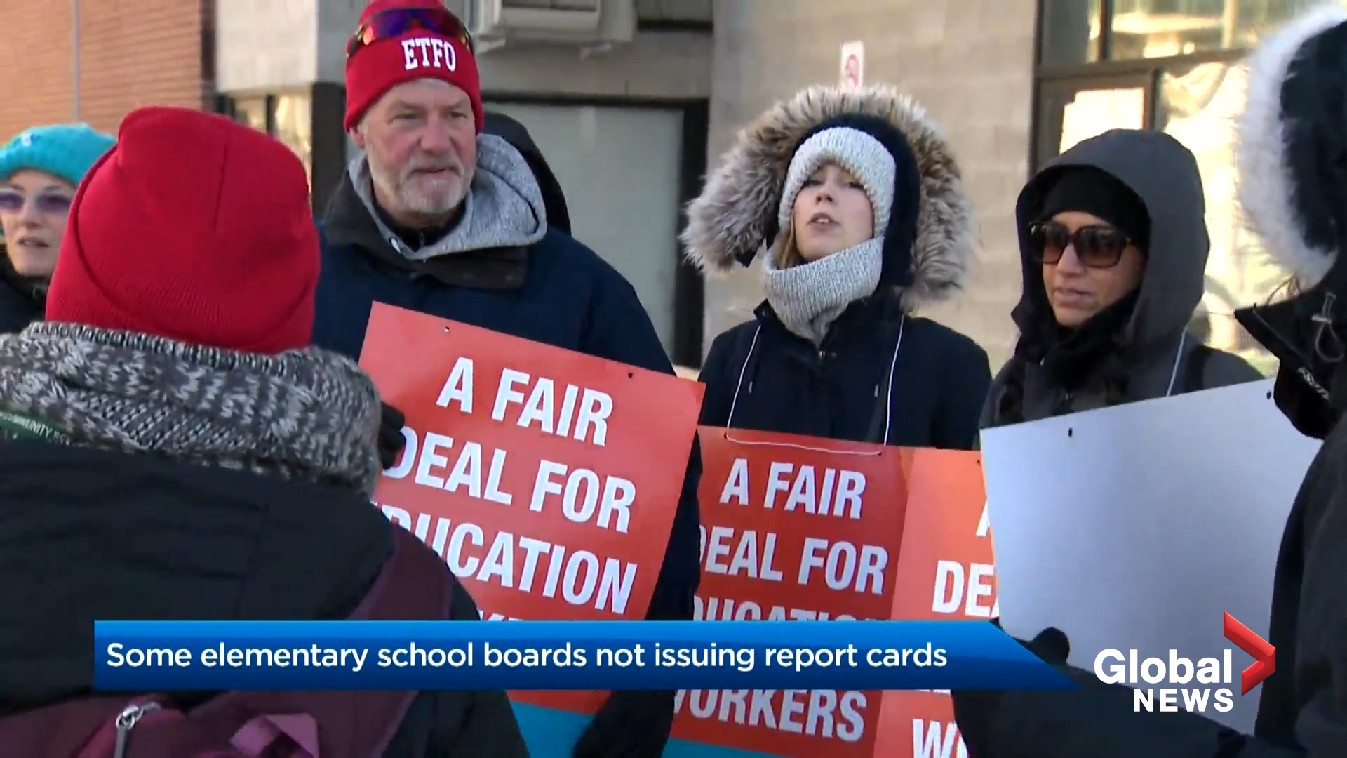 Some elementary school boards not issuing report cards amid labour action