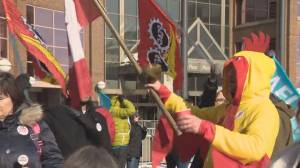 Rally in Edmonton marks 4 years of Phoenix pay system issues