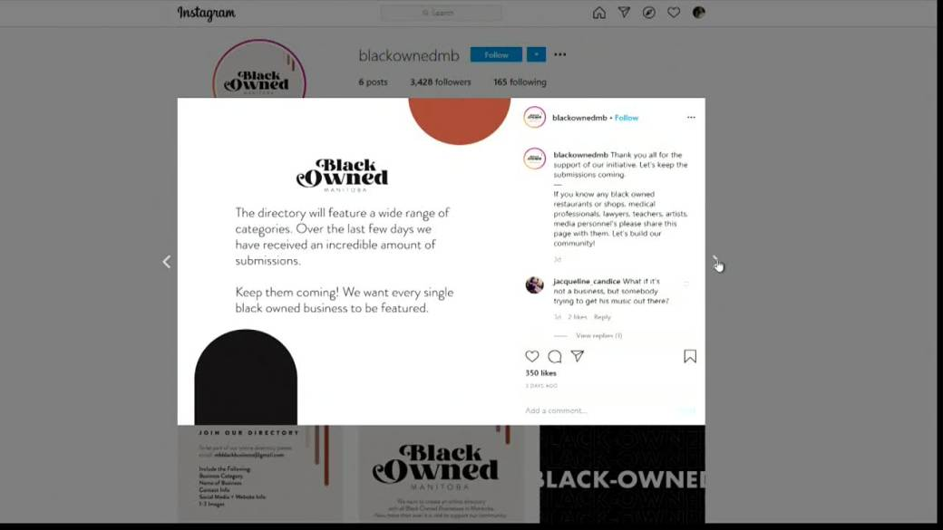 Click to play video 'Black-owned business directory to come online in Manitoba'