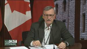 Coronavirus outbreak: Ontario hoping to increase to 5,000 tests per day says Williams