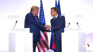 'Tremendous unity': Trump thanks Macron for G7 visit