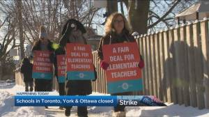 Elementary Teachers in Ontario begin week of rotating 1-day strikes
