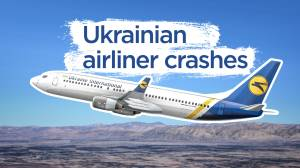 What happened to the Ukraine plane that crashed in Tehran?
