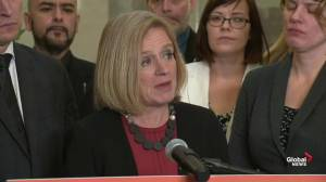 Rachel Notley outlines what's included in Bill 22