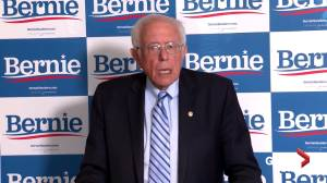 Sanders says he'd support Biden if he loses Democratic presidential nomination